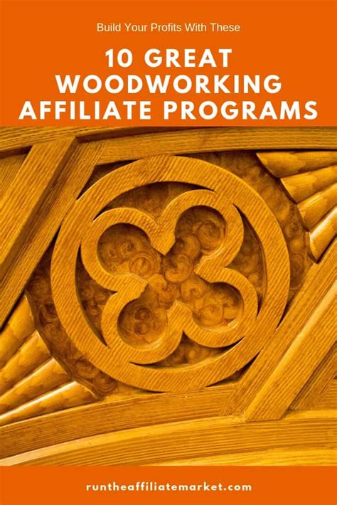 Woodworking Affiliate Programs