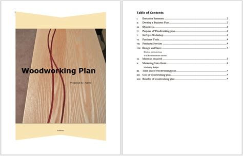 Woodworking Business Plan Free