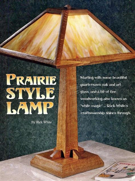 Woodworking Lamp Plans
