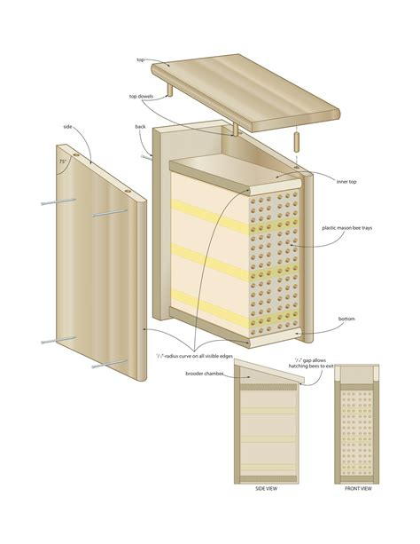Woodworking Plans Bee Box