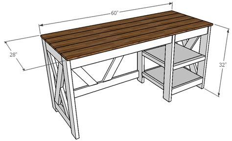 Woodworking Plans Computer Desk Anna White
