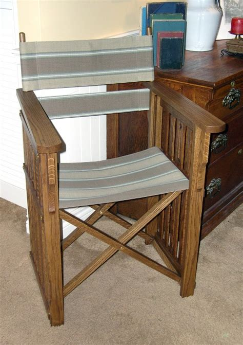 Woodworking Plans Directors Chair