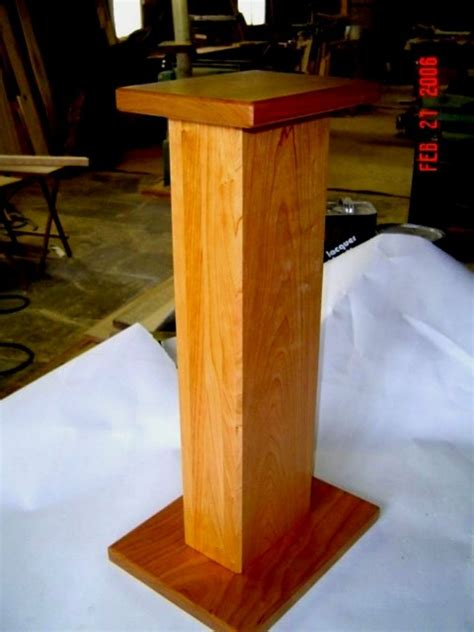 Woodworking Plans For Speaker Stands