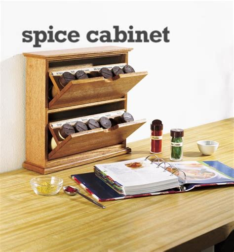 Woodworking Plans Spice Cabinet
