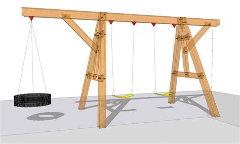 Woodworking Plans Swing Set