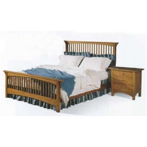 Woodworking Project Paper Plan To Build Mission Style Queensized Bed