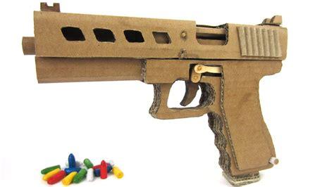 Glock-19 Working Cardboard Glock 19.