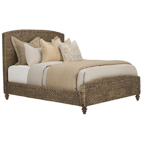 Woven Panel Bed byMOTI Furniture