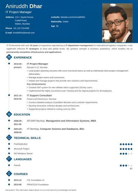 create free resumes