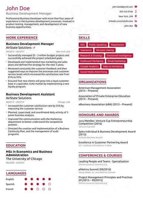 Write A Business Resume Business Resume Examples Livecareer Resume Builder