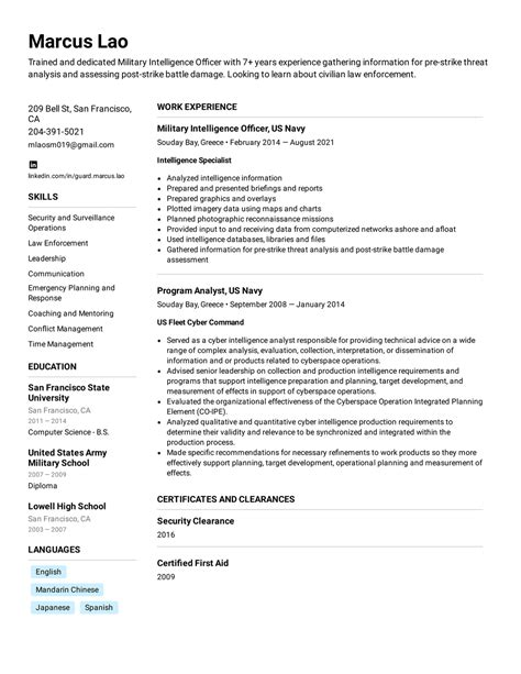 10 best resume writing service military to civilian