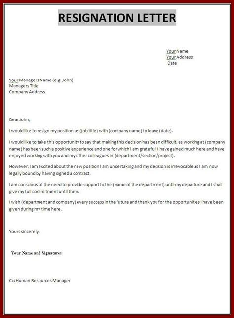 Writing Resignation Letter To Employer Tips For Writing A Letter Of Resignation With Samples