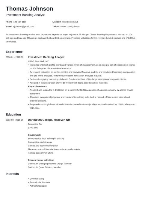 Commercial Lawyer Resume Sample Writing Resume Objective For A Investment Banking