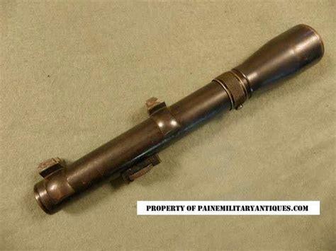 Rifle-Scopes Ww1 Sniper Rifle Scopes.