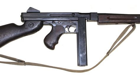 Tommy-Gun Ww2 British Tommy Gun.