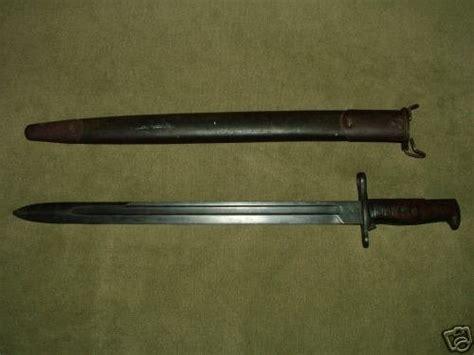 Vortex Wwi Us M1903 Springfield Armory Bayonet 1907 Scabbard.