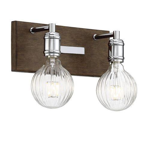Wychwood 2-Light LED Vanity Light