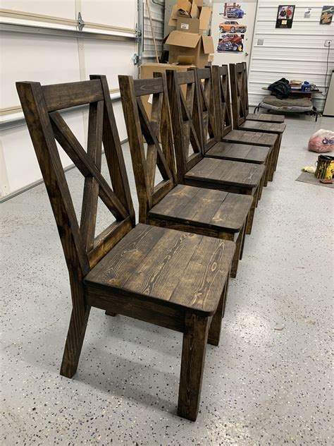 X Back Chair Plans