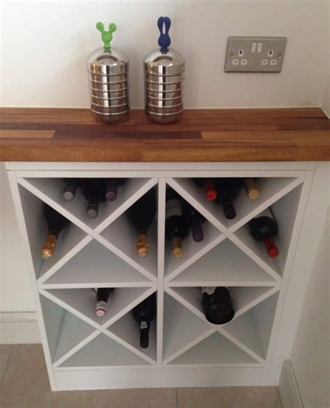 X Wine Rack Plans