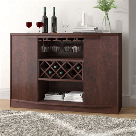 Xanthene Bar with Wine Storage