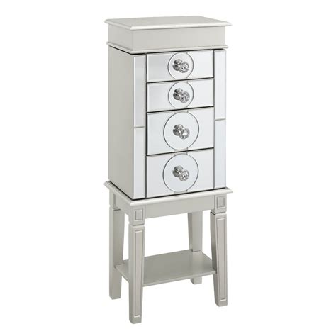Xenia  Jewelry Armoire with Mirror
