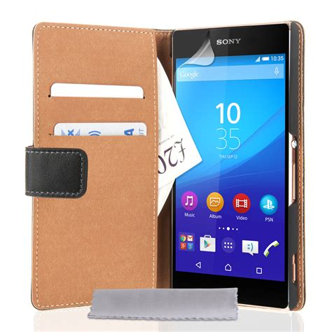 Xperia Z3 Credit Card Case Leather Wallet Case For Sony Xperia Z3 For Sale Ebay