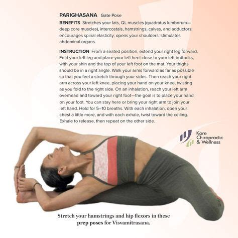 yoga deep hip flexor openers4less gate