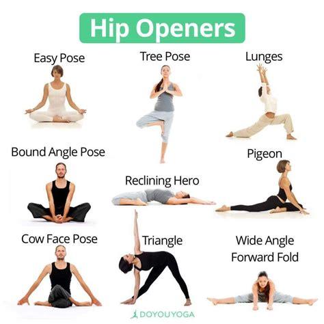 yoga hip flexor strengthening videos