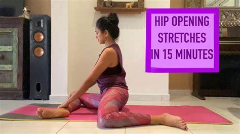 yoga hip stretches youtube