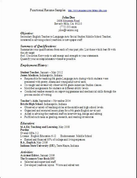 young professional resume template functional resume template
