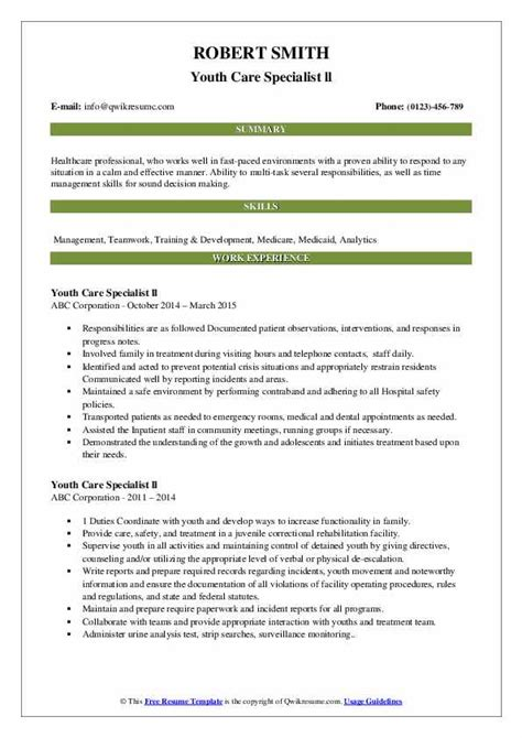 gallery of child care specialist cover letter samples and