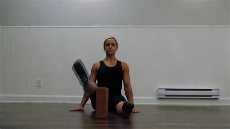 youtube hip flexor strengthening seated calf extension