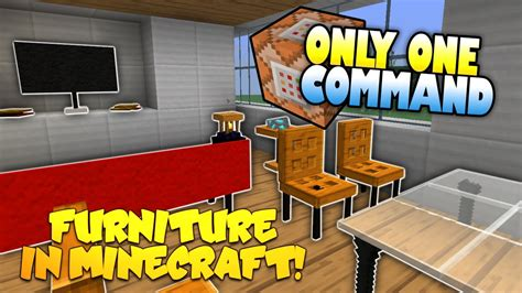 Youtube How To Make Furniture In Minecraft