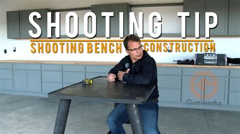 Youtube Shooting Bench Plans