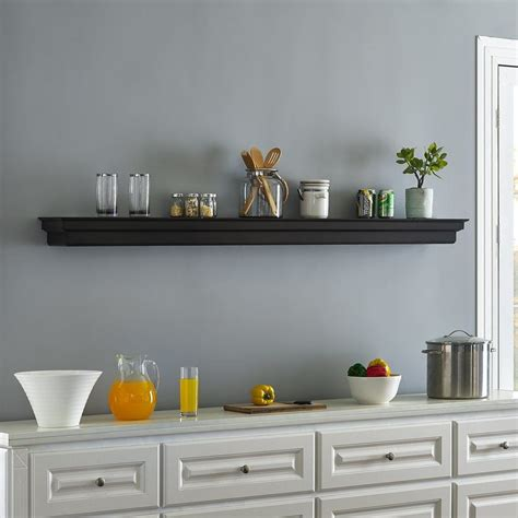 Yulia Fireplace Wall Shelf
