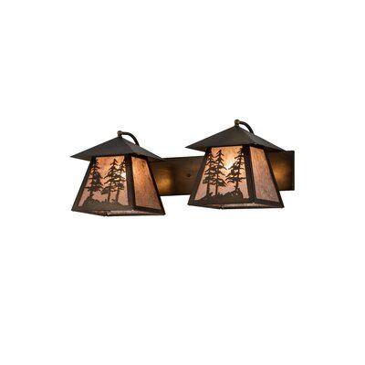 Zambrana Tall Pines 2-Light Vanity Lighting