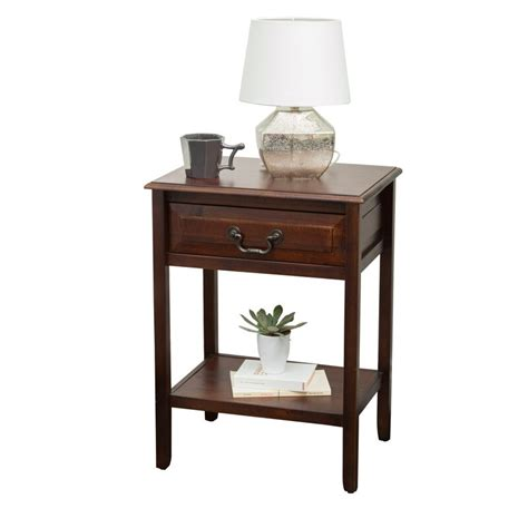 Zara Acacia Wood End Table