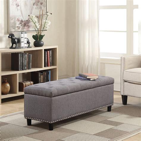Zariyah Upholstered Storage Bench