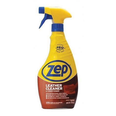 Zep Commercial Leather Cleaner Conditioner Evaluations