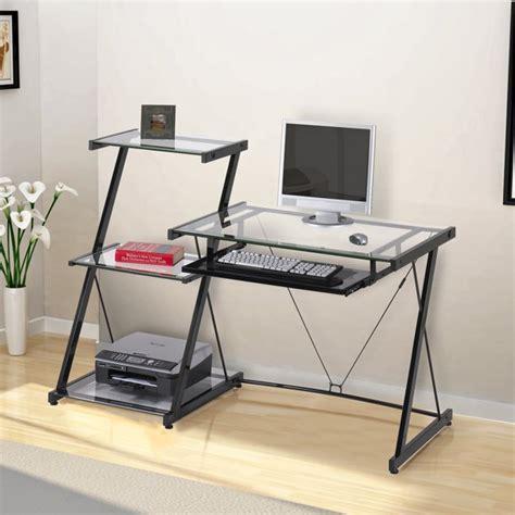 Zline Designs Nero Computer Desk And Bookcase