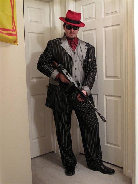 Tommy-Gun Zoot Suit Tommy Gun