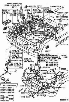 wiring cl for 1988 1997 toyota hilux 4runner truck ln111 general sales region