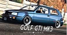 volkswagen golf mk3 gti gta5 mods