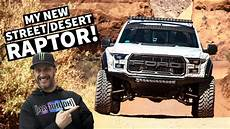 Ken Block Tests His New Fully Built Ford Raptor In Moab