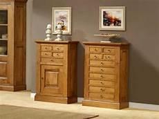 meuble d entree en bois massif