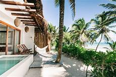 the 9 best beachfront hotels in tulum mexico to book in 2018