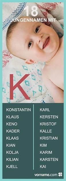 Jungennamen Mit K Baby Names K Boy Names Baby Names