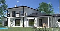 exemple maison moderne contemporaine modele