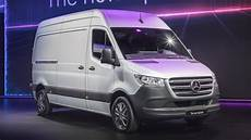 2019 mercedes sprinter vans are revealed with an