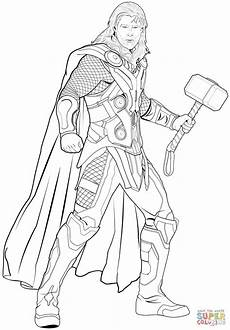 thor avengers drawing at getdrawings free download